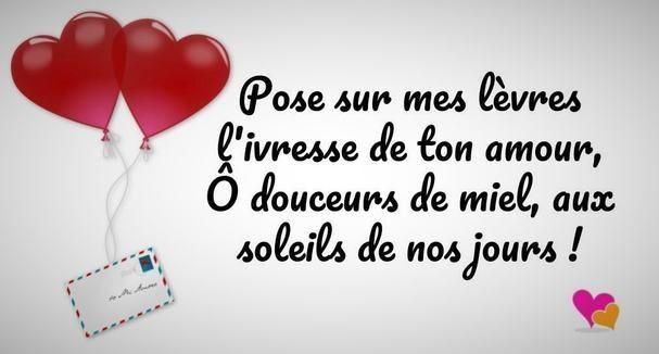 Belle phrase d'amour je t'aime