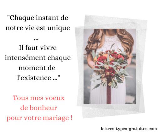Modele Petit Discours Felicitations Mariage Message Poeme Sms Maries