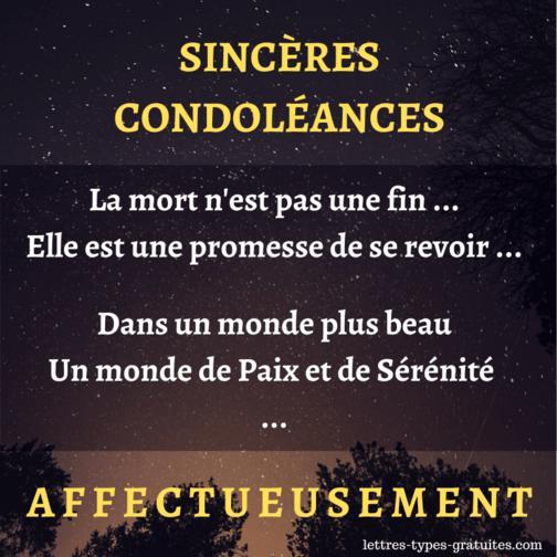 Jolie carte de condoléances pour une amie - Image Condoléance ami