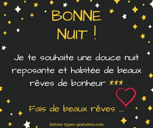 Sms Bonne Nuit Amour Et Amitie Humour Tendresse Poeme Image