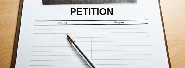 Modele De Lettre De Petition Gratuite Courrier Pour Petitions A Imprimer