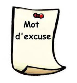 Mot parents excuses absence scolaire
